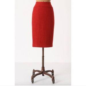 Moulinette Soeurs textured pencil skirt